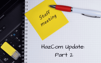 HazCom Updates – Part 2